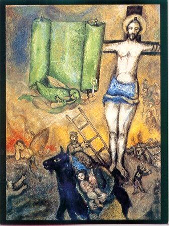 79. Pope Francis and Chagall's White Crucifixion – Dr ... Marc Chagall Crucifixion